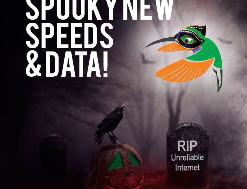 Spooky New Speeds and Data