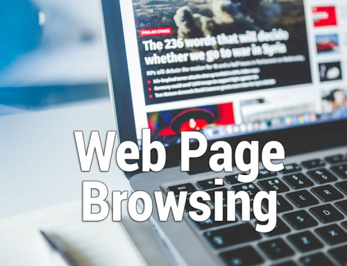 The Amount of Data and Bandwidth Required for Web Browsing