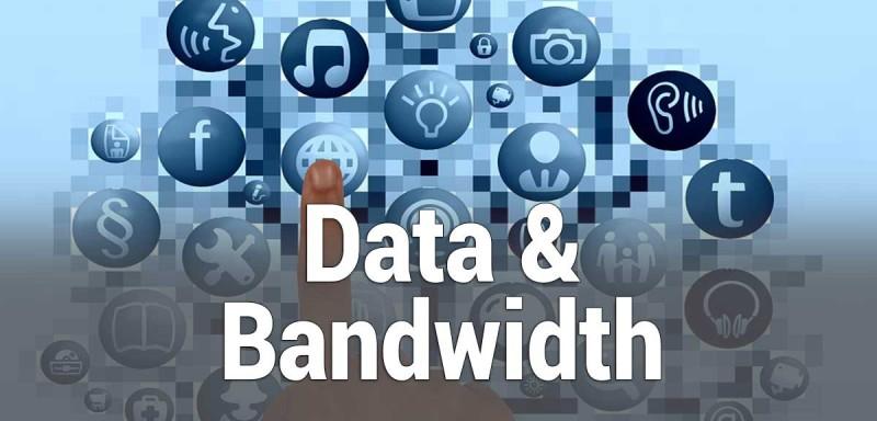 summary of data and bandwidth