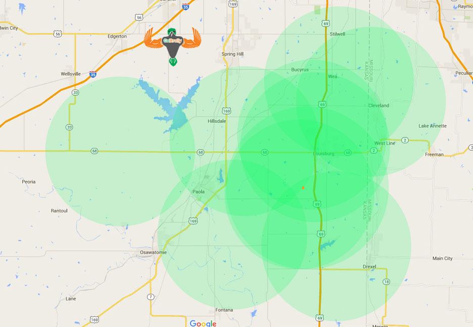 Lightboxgobrollyinternetcoveragemapapril GoBrolly - Go phone coverage map