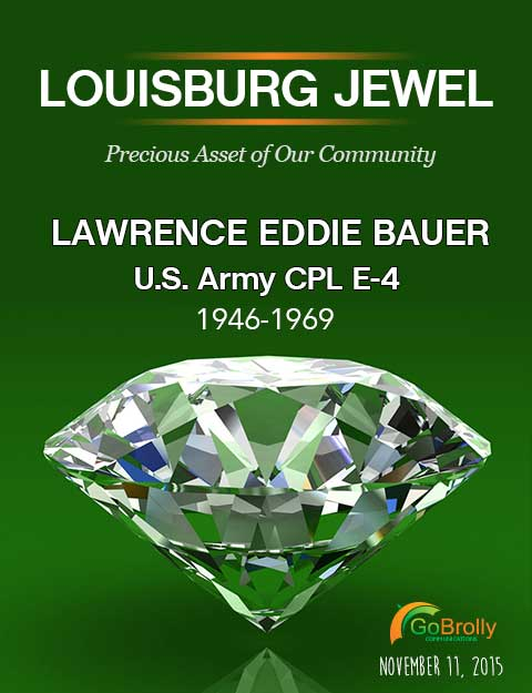 Lawrence E Bauer Louisburg Jewel