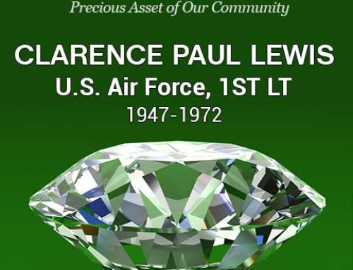 Louisburg Jewel – Clarence Paul Lewis, First Lieutenant