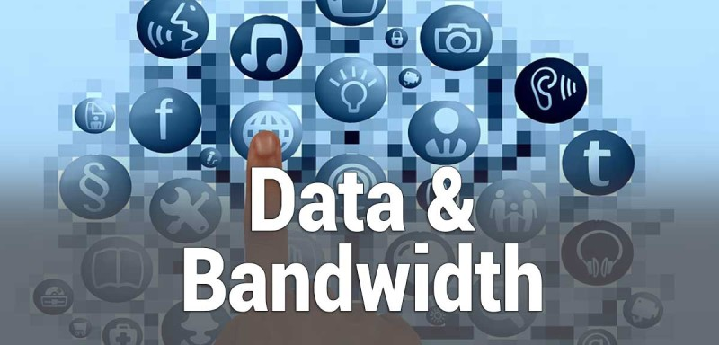 summary of data and bandwidth