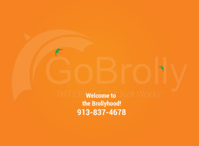 GoBrolly Internet Account