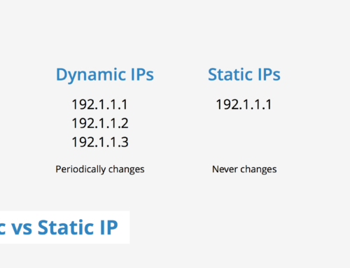 What is a Static IP and When Would I Need One?