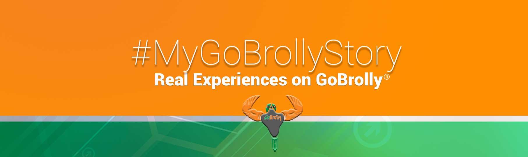 #MyGoBrollyStory