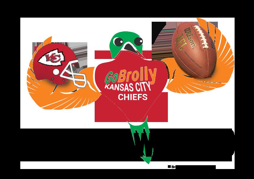 GoBrolly Bird Chiefs Football Super Bowl 2020